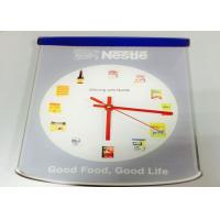 Wholesale Quartz Analog Custom Logo Clocks Wall Home Decoration , Personalized Gift from china suppliers