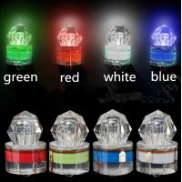 Buy cheap LED Deep Drop Underwater Diamond Fishing Flashing Light Bait Lure Squid Strobe deep 1000m from wholesalers