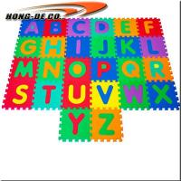 Buy cheap Alphabet mat with ABC , 123 Non-Toxic, Eco-friendly Safe, soft, durable and easy to wipe from wholesalers