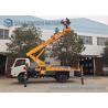 Buy cheap JMC 4x2 20m telescopic work platform high altitude operation truck from wholesalers