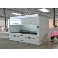 Wholesale School Science Lab Fume Hood 8-10mm Benchtops Seamless Welding Cabinet for pp fume hood from china suppliers