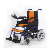 Quality Comfortable Fold Up Electric Wheelchair , Powered Wheel Chairs CE Approved for sale