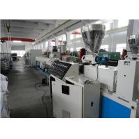 Wholesale New Style Plastic PVC Pipe Extrusion Line , pvc Pipe Production Line For Water Supply System from china suppliers