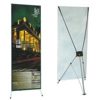 Wholesale Advertising  graphic banner stand Trade Show Display X Banner Stand With PVC Banner from china suppliers