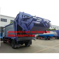 Wholesale 4 x 2 10m³  SINOTRUK HOWO Compact Garbage Truck With Hydraulic PRessure from china suppliers