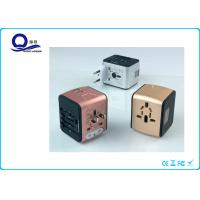 Wholesale UK / AUS / USA Plug USB Power Adapter , Portable Usb Electrical Outlet Adapter from china suppliers