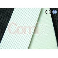Quality White Diamond Pattern PVC PU Conveyor Belt 2mm Thickness Breaking Load 100 N/mm for sale