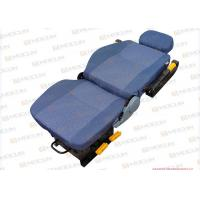 Wholesale Flexible Forklift / Wheel Loader Seats , Luxury Armrest Heavy Equipment Seats 32.5kg from china suppliers