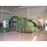 Wholesale High water Head Pelton Hydro Turbine / Pelton Water Turbine with Synchronous Generator and PLC Governor from china suppliers