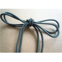 Wholesale Colored Cotton Cord for garment Braided Fabric Waxed Cotton Cord for Shoelace from china suppliers