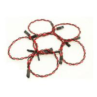 Quality 20cm Female To Female Jumper Wires 2pin Dupont With 2.54mm Spacing Pin Headers for sale