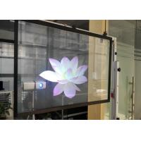 Wholesale Holographic Projection Screen Film  , Rear Projection Film For Glass For Window Store from china suppliers