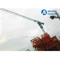 Quality Topless 5 ton 50m Jib Tower Crane Machine For Lifting Construction Equipment for sale