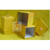 Wholesale Yellow Gift Cardboard Jewellery Boxes / Womens Jewelry Box Paper from china suppliers