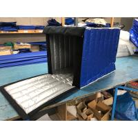 Wholesale Dark Blue Insulated PE Roll Cage Cover 2.8 Kg Gross Weight For Fruit Food Industry from china suppliers