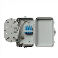 Quality Grey Optical Network Components Dustproof Outdoor Fiber Termination Box Pc + Abs for sale