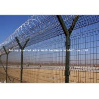 Wholesale PVC Coated Airport Security Fencing Galvanized Razor Wire 0.5mm-3.0mm Wire Diameter from china suppliers