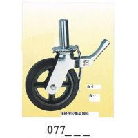 Wholesale Scaffolding Caster rubber caster Cast Iron 077 from china suppliers