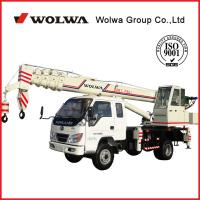 Wholesale Wolwa GNQY-C8 8 tons Automobile crane from china suppliers