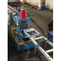 Wholesale Hydraulic Quick Punching Metal Shutter Door Roll Forming Machine Single Profile Holes from china suppliers