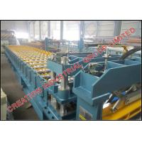 Buy cheap Aluminium Metcopo Step Roof Tile Roll Forming Machine With Automatic Decoiler from wholesalers