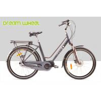 Wholesale City Mid Motor Electric Bike 250W 26 Inch Wheel EN15194 25Km / H Disc Brake For Front from china suppliers