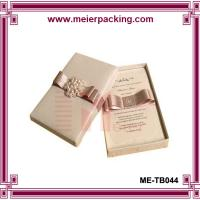 Buy cheap Presention luxury jewelry gift box/Birthday favor printed paper box ME-TB044 from wholesalers