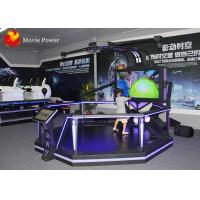 Wholesale Virtual Reality Cinema 2 Handles VR Theme Park Equipment HTC VIVE VR Game Station from china suppliers