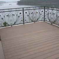 Quality Wood Plastic Composite Decking/Flooring, Made of 30% HDPE, Measures 146 x 26mm, Barefoot-friendly for sale