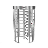 Wholesale 0.2S Electric Security Stainless Steel Full Height Turnstile with Light Alarm RS485 from china suppliers