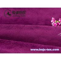 Wholesale 100% polyester double sides warm cuddle soft handle velboa fabric for bedding from china suppliers