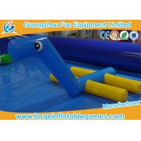 Wholesale Outdoor Inflatable Water Park Games Inflatable Water Toys Float Horse Water Fountain For Pool from china suppliers