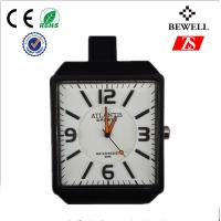 Wholesale Stylish Square Face PU Band Silicone Wrist Watches OEM / ODM from china suppliers