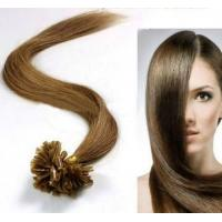 Wholesale Female Brown U - Tip 100% Remy People Pre Bonded Hair Extension from china suppliers