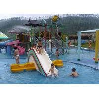 China Aqua Park Playground Equipment / Kids Water House For Hotel Resort on sale
