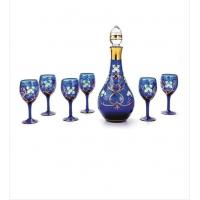 Wholesale Wedding Decrotive decal, paint Wine Glass Gift Sets / customized Stemless glassware from china suppliers