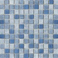 Wholesale Washable Crystal Glass Mosaic Tiles for Interior Wall , Glossy Surface from china suppliers