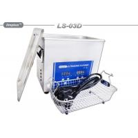 Wholesale 3 Liter Professional Ultrasonic Jewelry Cleaner Ultrasonic Cleaning Bath from china suppliers