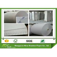 Wholesale Two side Gray Paper Roll in 450gsm / 0.74mm for lamination to thicker board from china suppliers