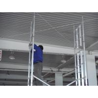 Wholesale Ring lock joints Steel Scaffold Towers , TUV GS 2kn / ㎡ Frame Scaffolding from china suppliers