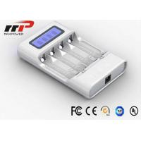 Wholesale Intelligent AA AAA LCD Battery Charger 4 Slot NIMH NiCad Batteries CE from china suppliers