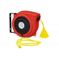 Wholesale Plastic Housing Electric Spring Driven Cable Reel With Ratch Double Adjustment from china suppliers
