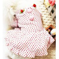 Wholesale 2012 brand new beautiful pink dog skirt dog clothes 30pcs/lot drop shipping from china suppliers