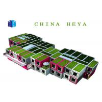 Wholesale Waterproof Flat Pack Container House , 2 Story Modular Homes Easy To Assemble from china suppliers