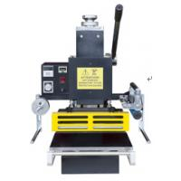 Wholesale manul type hot foil stamping machine for invitation601 from china suppliers