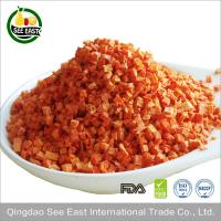 Quality 100% Natural instant vegetables AD dehydrated dried carrot for sale