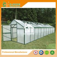 Wholesale 1006x306x244cm Green Color Quickly Assemble Garden Aluminum Greenhouse from china suppliers