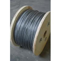 Wholesale Galvanized steel ASTM Wire Rope , Dia 1.5mm and 7x37 for industry from china suppliers