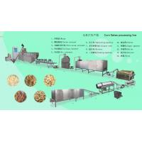 Wholesale Breakfast Cereal corn flakes process line agricultural food machinery from china suppliers