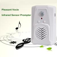 Wholesale COMER home sound speaker PIR motion detector voice prompt player Elevator alarm bell Voice from china suppliers
